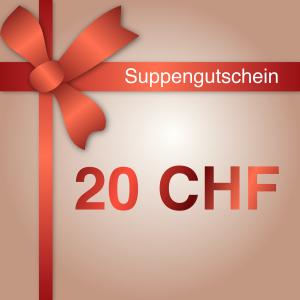 Geschenkgutschein 20 CHF